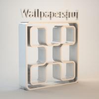 Сувенир в виде логотипа Wallpapers[ru]