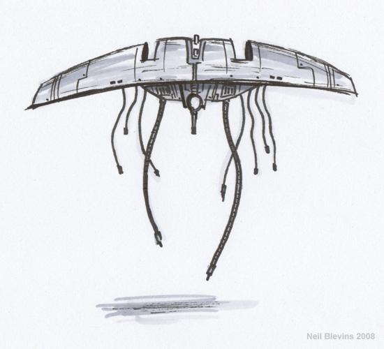 Grabbot I initial sketch