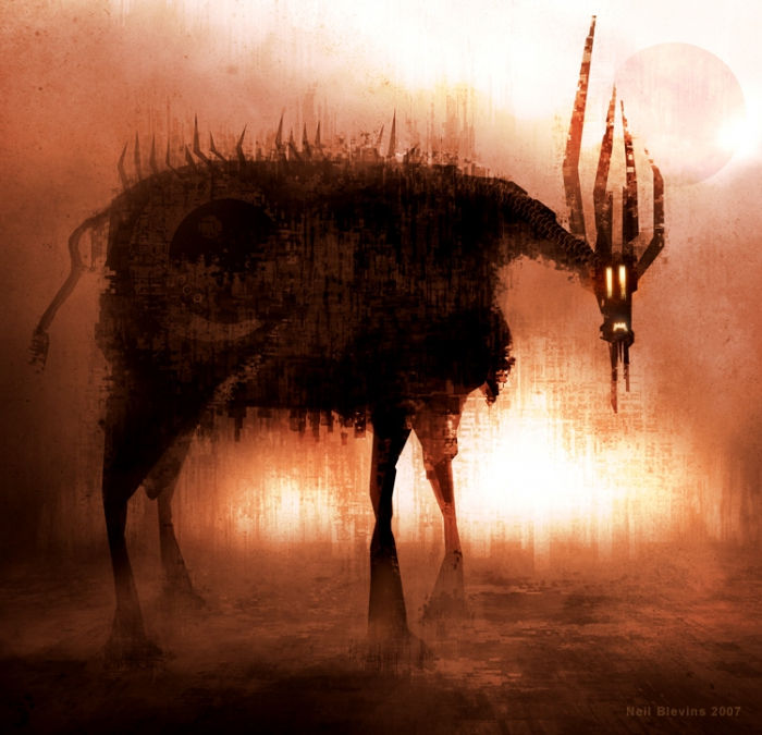 "Neil Blevins: ""Cattle"""