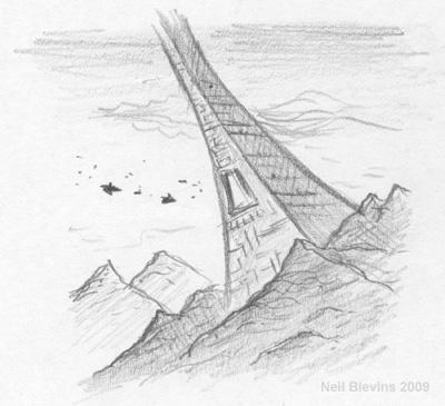 Mountainside Base sketch