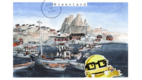 Postcard Greenland