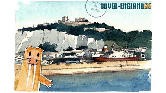 Postcard England