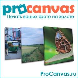 procanvas — печать любых изображений на холсте