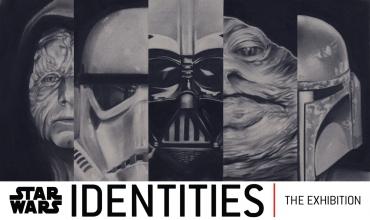 "Один из постеров ""STAR WARS Identities"""