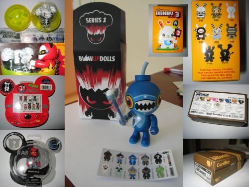 Призы от магазина дизайнерских игрушек Луноход-1 (2007)
