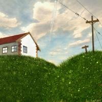 Домик на холм