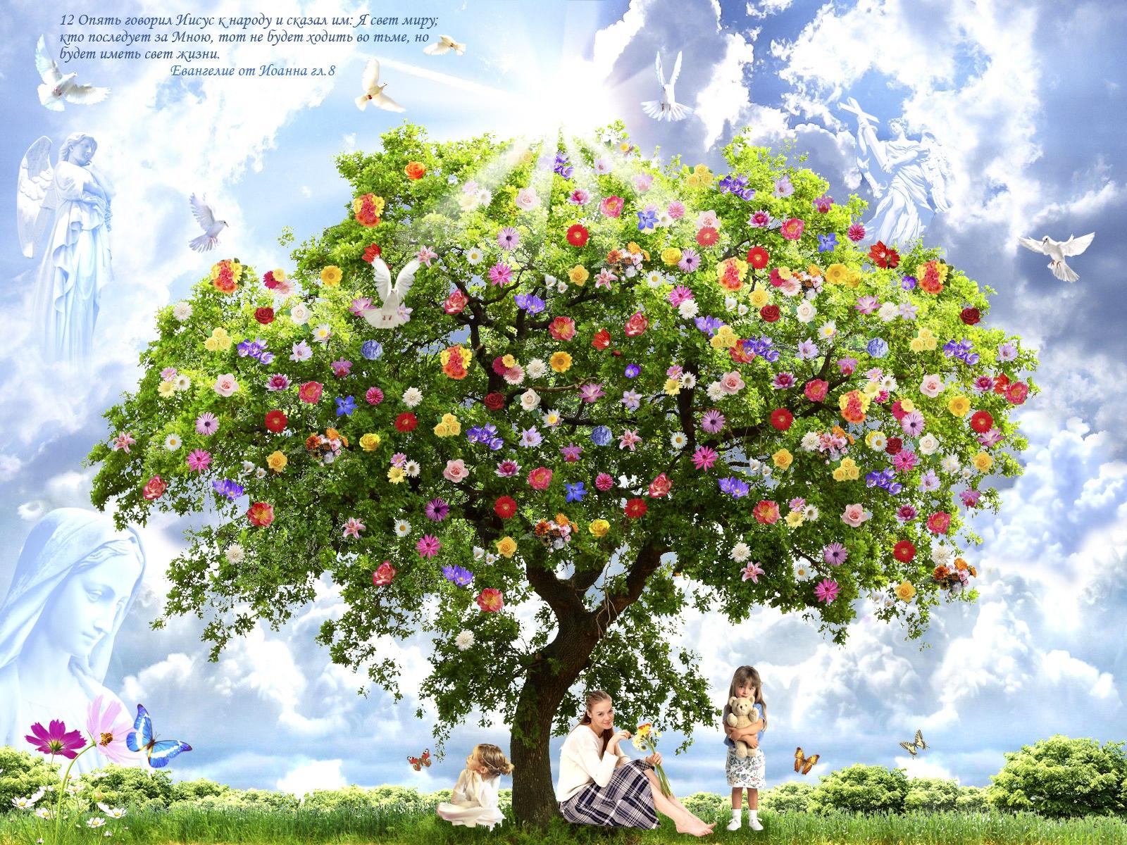 Сказочные деревья своими руками