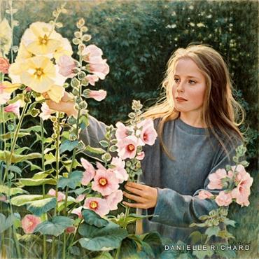 """""""Catherine et les roses Trémières"""""""