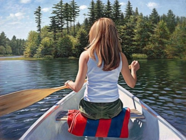 """""""Le lac retrouvé"""", 2005"""