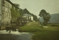 Remi Verstreken, Watermill on the Semois/Belgium, c.1913, autochrome 9 x 12