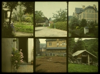 Alfonse Van Besten, Composite of various sights    c. 1912, autochrome 9 x 12