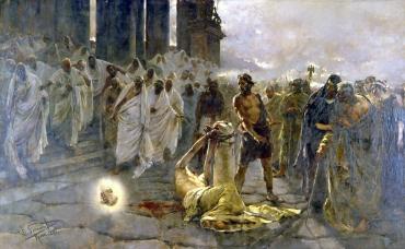 The Beheading of Saint Paul. 1887