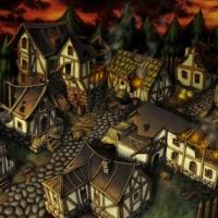 Bahmet - Сгоревшая деревня
